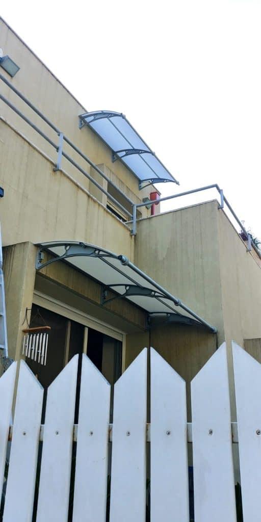 גגון לבית מפוליקרבונט
